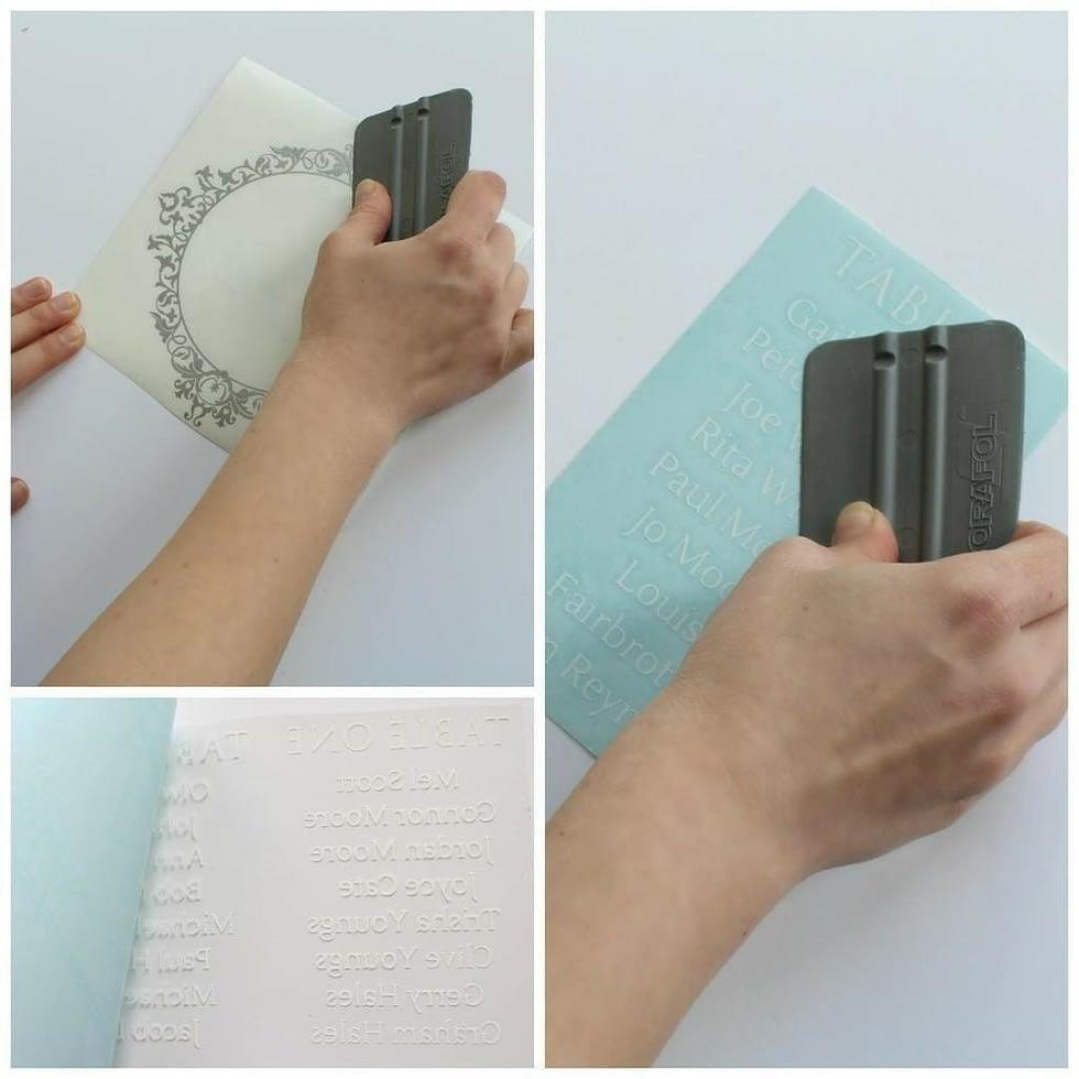 Step-3-press-vinyl-sheets-with-scraper