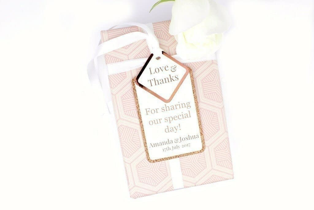 copper gift tag