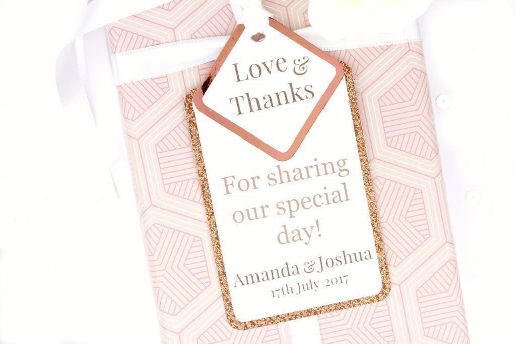Shine Copper Gift Tags