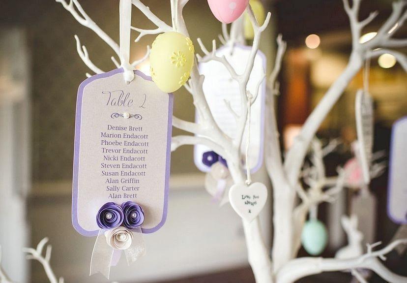 Wedding Tree Table Plan Cards Love Storey Weddings