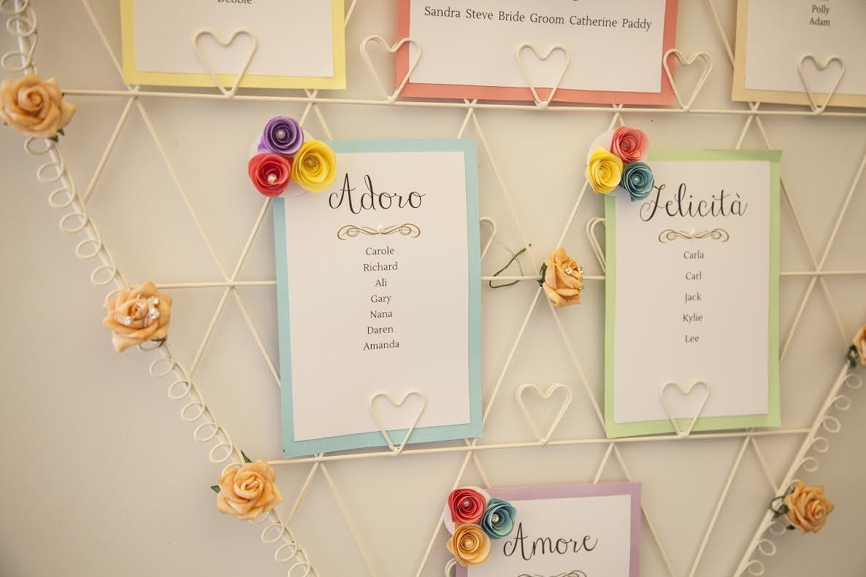 boho chic wedding table plan 1