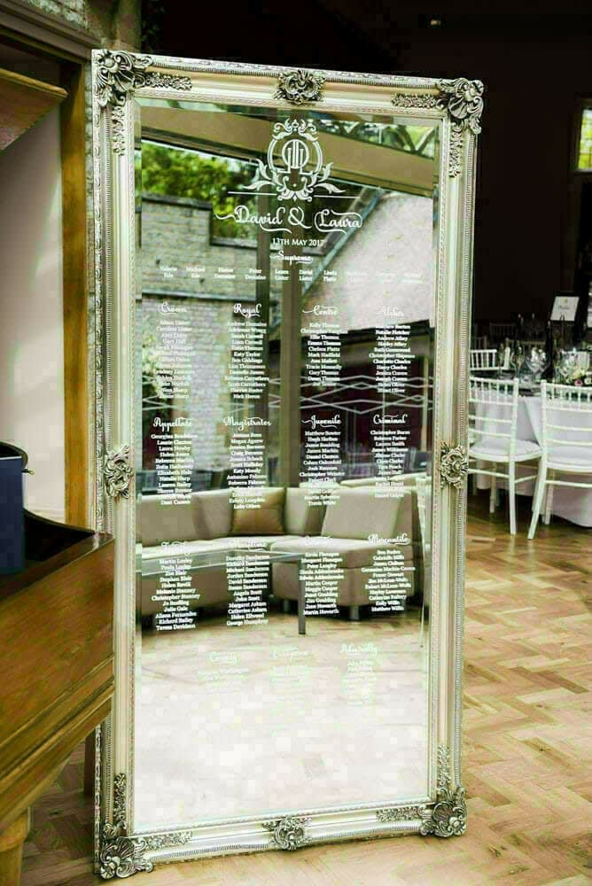 full length mirror table plan 9