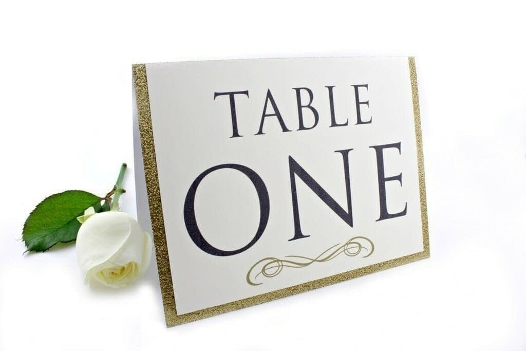 gold-glitter-table-number-2